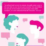 Flyer borstkanker praatgroep